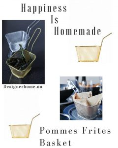pommes frites holder