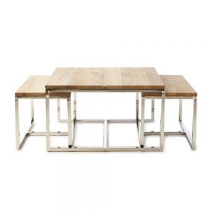 Riviera Maison bord, Monaco Coffee Table 70×70