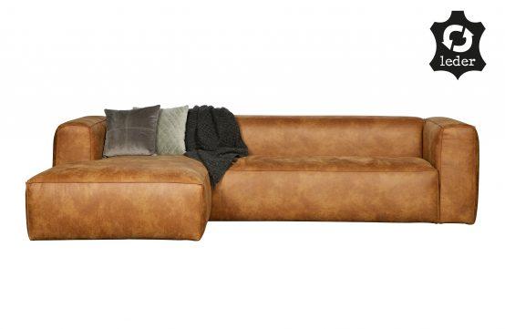Bean sofa, skinn cognac