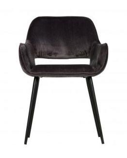 Boston velvet stol