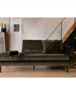 Rodeo daybed velvet dark green hunter