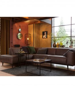 Statement sofa, hjørnesofa, skinnsofa, BePureHome, De Ekhoorn