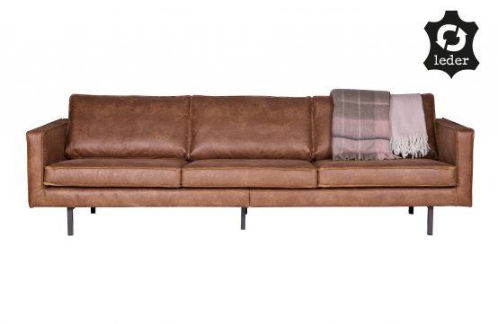 Rodeo sofa 3-seter cognac