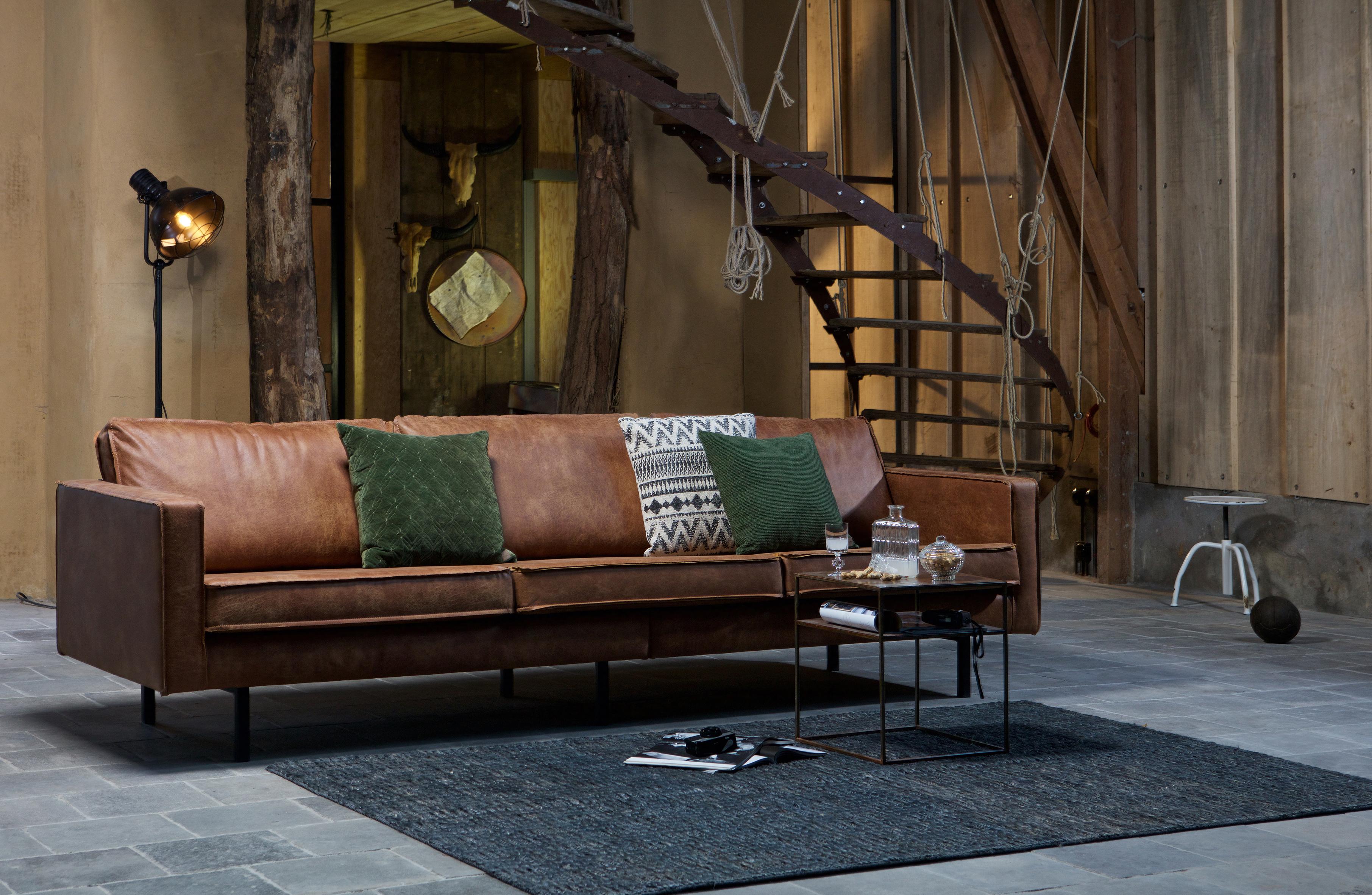 Rodeo Sofa 3 Seter Cognac Designerhome No
