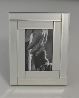 speilramme med rektangulære speilfliser, herregård