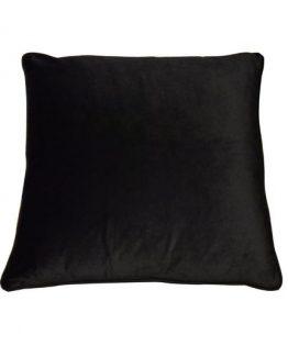 Pute black velvet 40 x 40