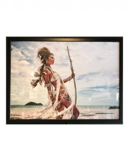 native woman, poster