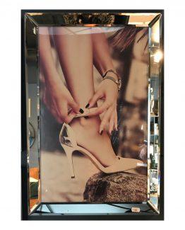 Speilramme high heels 40 x 60