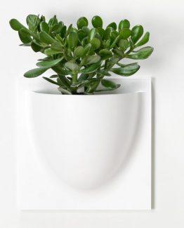 Vertiplants potte hvit, stor