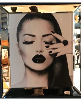 Speilramme black beauty 40 x 40