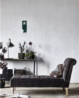 sjeselong, santena dagseng, daybed, sofa, chaiselong, chesterfield look, Lene Bjerre