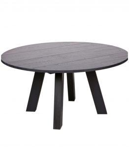Rhonda spisebord, heltre ø150