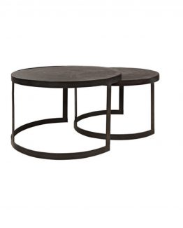 Mayfair coffee table s/2
