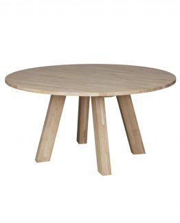 lite rundt spisebord med uttrekk