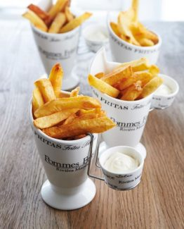 Pommes frites holder