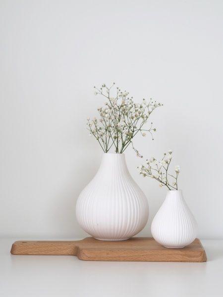 Adrian vase hvit 9 cm