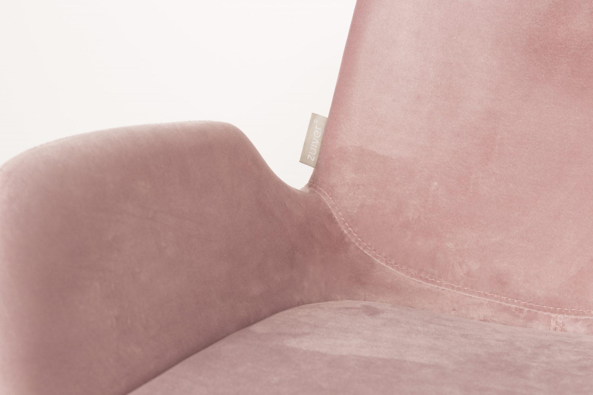 Brit stol rosa velvet designerhome.no