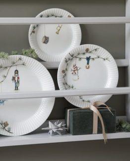 Kähler juleservise, hammershøi tallerken