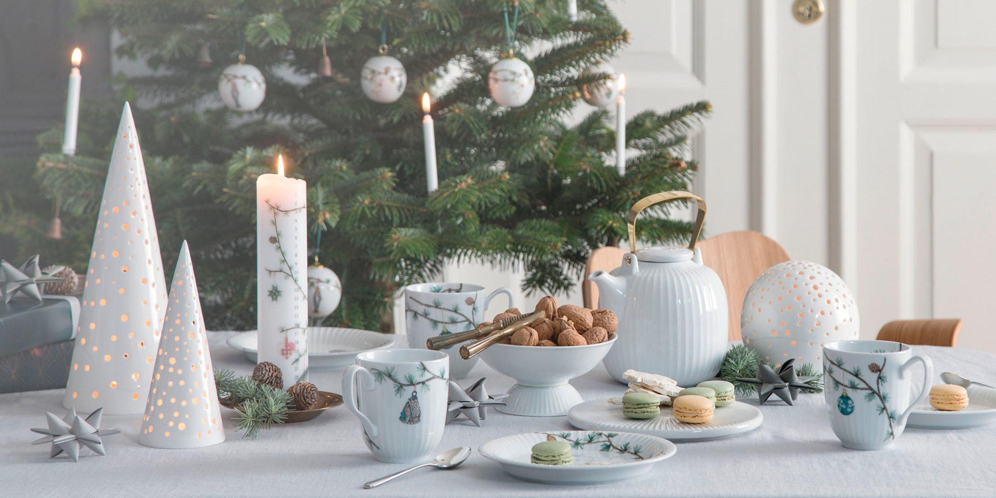Hammershøi | Kähler i 2020 | Krus, Varm chokolade, Juleborde