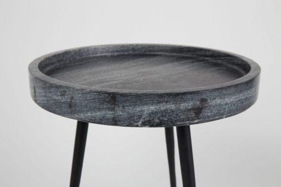 Karrera sidebord med grå marmor, Zuiver