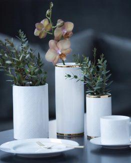 Cape kaffekopp, asjett, vase, Halvor Bakke