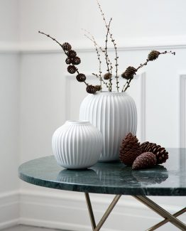 Kahler Hammershøi, hvit vase