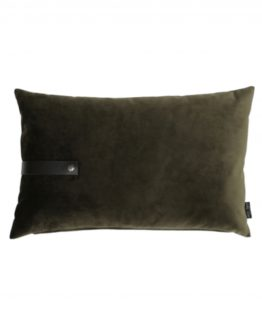 Pute velour, army 60×40