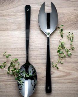 Salat bestikk, gunmetal, Simen Staalnacke