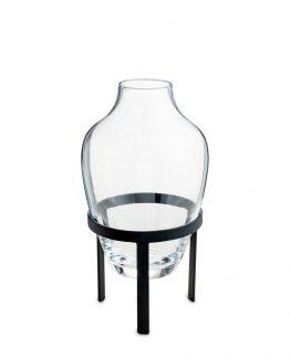 adorn vase sort stål nordstjerne