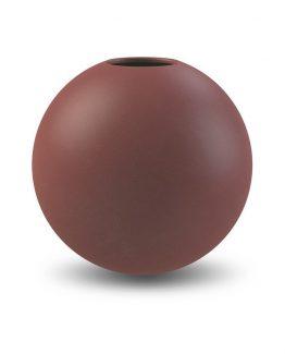 Ball vase plum 20 cm