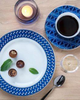 Tokyo frokosttallerken, kaffekopp, Simen Staalnacke