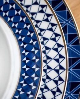 Tokyo gourmettallerken, flat tallerken, frokost tallerken, Simen Staalnacke servise