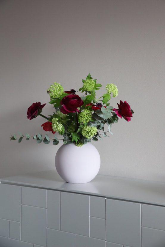 ball vase hvit, cooee design