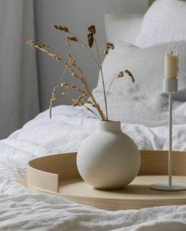 Collar vase hvit cooee design