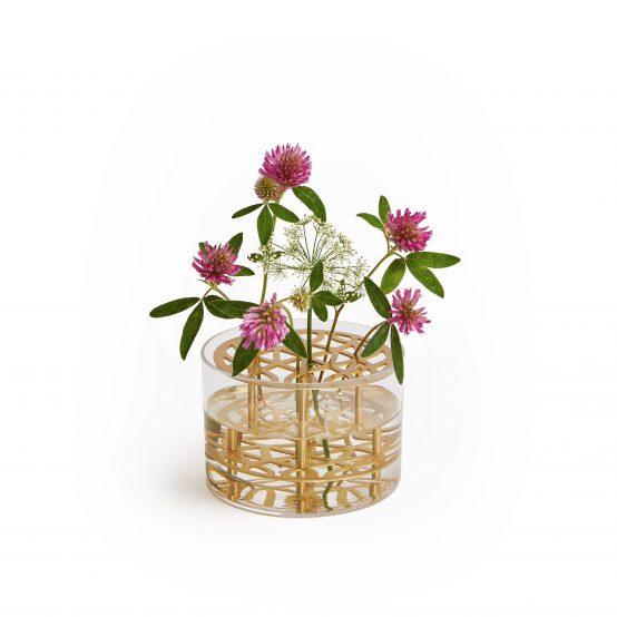 Eng vase klong, brass, messing