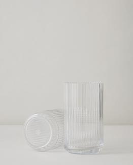 lyngby vase klart glass