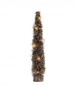 juletre gull lene bjerre, led lys