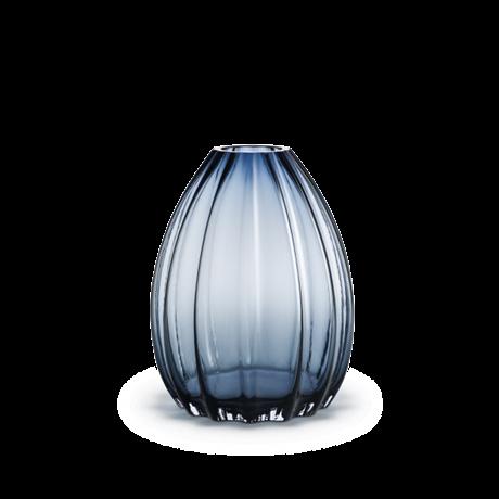 Holmegaard, 2lip vase, blå glass vase