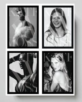 Kate moss, bok, coffee table book