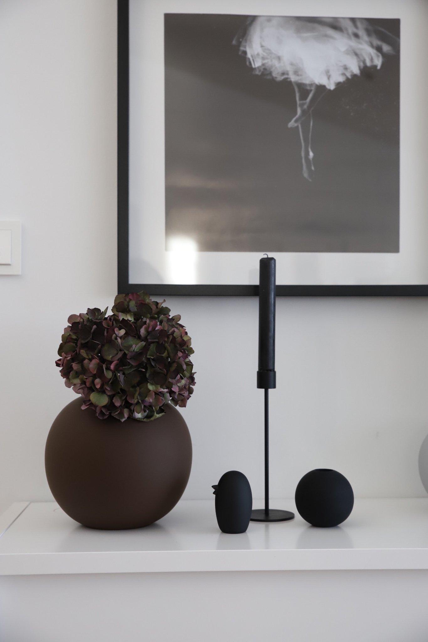 Helt nye Ball vase plum 20 cm - designerhome.no YG-78