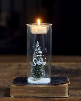 let it snow fillable votive S, riviera maison jul