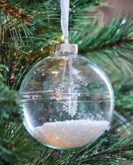 happy snowstar ornament riviera maison julekule, jul