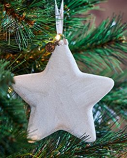 winter star ornament riviera maison julepynt, jul