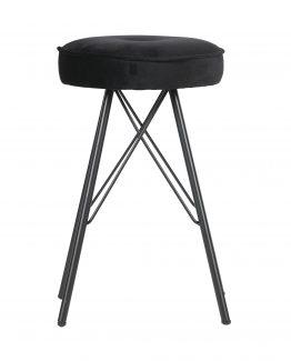 bella stool, velvet barkrakk, de eekhoorn