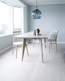 Viken, spisebord, nordisk stil, norsk design, ygg&lyng, rektangulært spisebor