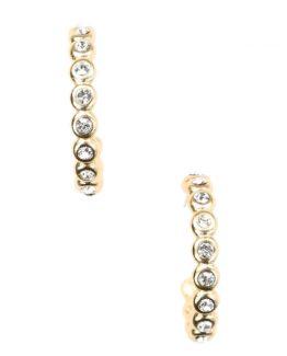 secrets by B, gull øredobber, ørepynt, norsk design, 18kt gull, gullforgylt, blomsterøredobber, vintage glam, søte øredobber, øredobb ring