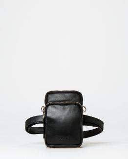 Fanny pack, skinnveske, kuskinn, rumpetaske, rumpeveske, Midjeveske, dansk design, crossover veske, Montana