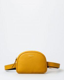 Alva Fanny pack, skinnveske, kuskinn, rumpetaske, rumpeveske, Midjeveske, dansk design, crossover veske, Montana