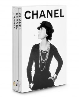 chanel 3 books coffetable book