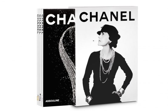 chanel 3 books coffetable book